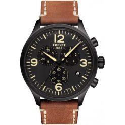 RABAT ZEGAREK TISSOT CHRONO XL T116.617.36.057.00. Czarne zegarki męskie marki TISSOT, ze stali. W wyprzedaży za 1232,00 zł.