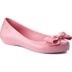Baleriny ZAXY - Bow IV Fem 82530 Pink 01358 BB285005 02064. Czerwone baleriny damskie lakierowane Zaxy, z materiału. W wyprzedaży za 149,00 zł.