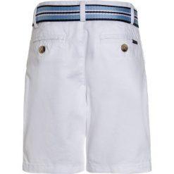 Polo Ralph Lauren SLIM FIT BOTTOMS Szorty white. Białe spodenki chłopięce Polo Ralph Lauren, z bawełny. Za 269,00 zł.