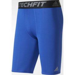 Adidas Spodenki Techfit Base Short niebieskie r. L (AJ5042). Niebieskie spodenki sportowe męskie Adidas, sportowe. Za 69,00 zł.