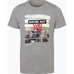 Jack & Jones - T-shirt męski, szary. Szare t-shirty męskie z nadrukiem marki Jack & Jones, l. Za 49,95 zł.