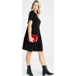 Sukienki hiszpanki: Dorothy Perkins Curve FRILL  Sukienka z dżerseju black