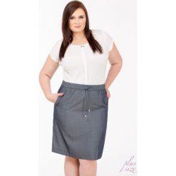 Spódniczki: Spódnica z troczkami Plus
