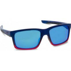 Okulary przeciwsłoneczne OAKLEY - Mainlink OO9264-3257 Blue Pop Fade/Prizm Sapphire Iridium. Czerwone okulary przeciwsłoneczne męskie aviatory Oakley, z tworzywa sztucznego. W wyprzedaży za 549,00 zł.