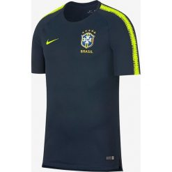 Koszulki do piłki nożnej męskie: Nike Koszulka męska Breathe Brasil CBF Squad granatowa r . XL (893278 454 )