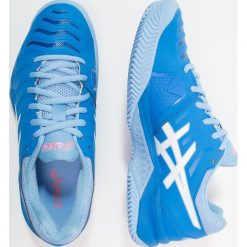 ASICS GELCHALLENGER 11 CLAY Obuwie do tenisa Outdoor electric blue/white. Czarne buty sportowe damskie marki Asics, do biegania. Za 419,00 zł.