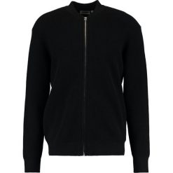 Swetry rozpinane męskie: Weekday PROFILE ZIP Kardigan black