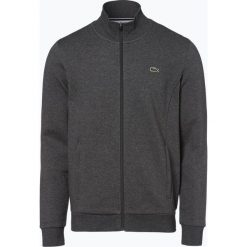 Lacoste - Męska bluza rozpinana Sportswear, szary. Szare bluzy męskie rozpinane marki Lacoste, z bawełny. Za 449,95 zł.