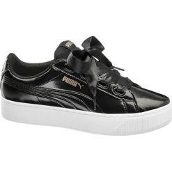 Buty sportowe damskie: buty damskie Puma Vikky Platform Ribbon Puma czarne