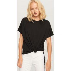 T-shirt Basic - Czarny. Czarne t-shirty męskie Reserved, m. Za 49,99 zł.