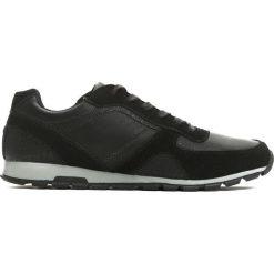 Czarne Buty Sportowe Forc. Czarne buty skate męskie Born2be, z materiału, na sznurówki. Za 99,99 zł.