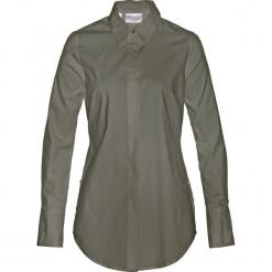 Długa bluzka bonprix ciemnooliwkowy. Zielone bluzki longsleeves bonprix. Za 99,99 zł.