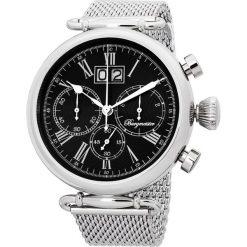 """Zegarki męskie: Zegarek """"Toulouse"""" w kolorze srebrno-czarnym"""