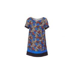 Sukienki krótkie Molly Bracken  JUNCE. Niebieskie sukienki hiszpanki Molly Bracken, l, z krótkim rękawem, mini. Za 175,20 zł.