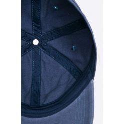 Pepe Jeans - Czapka Spock. Szare czapki z daszkiem męskie Pepe Jeans, z bawełny. W wyprzedaży za 59,90 zł.
