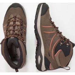 Salomon ELLIPSE 2 MID LTR GTX Buty trekkingowe vintage kaki/wren/living coral. Brązowe buty trekkingowe damskie Salomon, z gumy. W wyprzedaży za 527,20 zł.