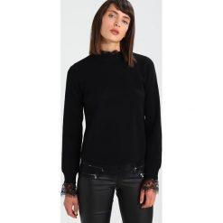 Swetry klasyczne damskie: YAS YASLIVA KNIT LS TOP Sweter black