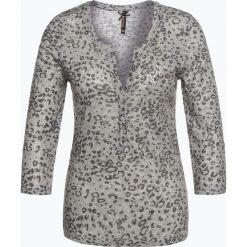 T-shirty damskie: Key Largo – Damska koszulka z długim rękawem z dodatkiem lnu – Leo, szary