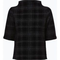 Opus - Damska bluza nierozpinana – Gadeni check, czarny. Czarne bluzy damskie Opus. Za 149,95 zł.