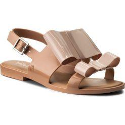 Rzymianki damskie: Sandały MELISSA – Classy II Ad 32258 Brown/Light Pink 50524