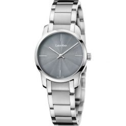 ZEGAREK CALVIN KLEIN CITY LADY K2G23144. Szare zegarki damskie marki Calvin Klein, szklane. Za 899,00 zł.