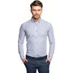Koszula versone 2706 długi rękaw slim fit niebieski. Czerwone koszule męskie slim marki Recman, m, z długim rękawem. Za 149,00 zł.