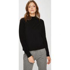 G-Star Raw - Sweter. Czarne swetry klasyczne damskie marki G-Star RAW, l, z bawełny. W wyprzedaży za 429,90 zł.