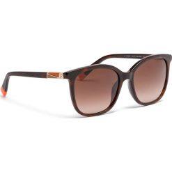 Okulary przeciwsłoneczne FURLA - Pin 995284 D 247F RE0 Havana 003. Brązowe okulary przeciwsłoneczne damskie Furla. Za 760,00 zł.