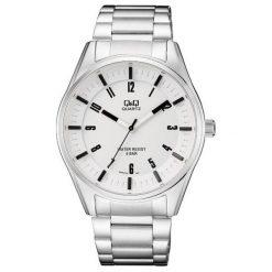 Biżuteria i zegarki męskie: Zegarek Q&Q Męski QA54-204 Sportowy WR 50M