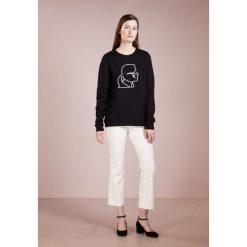 KARL LAGERFELD KARL LIGHTING BOLT SWEATSHIRT Bluza black. Czarne bluzy rozpinane damskie KARL LAGERFELD, m, z bawełny. Za 609,00 zł.