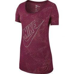 Koszulka sportowa damska NIKE TEE BURNOUT GLITCH / 803993-620 - NIKE TEE BURNOUT GLITCH. Czerwone bluzki sportowe damskie Nike. Za 69,00 zł.