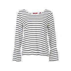 S.Oliver T-Shirt Damski 38 Biały. Białe t-shirty damskie marki S.Oliver, s, w paski. Za 119,00 zł.
