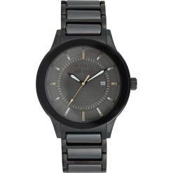 """Zegarki męskie: Zegarek kwarcowy """"Akmon"""" w kolorze czarnym"""