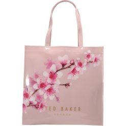 Ted Baker PAMMCON SOFT BLOSSOM LARGE ICON BAG Torba na zakupy light pink. Czarne shopper bag damskie marki Ted Baker, z materiału. Za 219,00 zł.