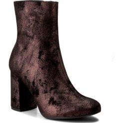 Botki LASOCKI - 303-1 Bordowy. Niebieskie buty zimowe damskie marki Lasocki, ze skóry. W wyprzedaży za 90,00 zł.