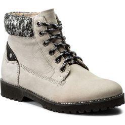 Botki SERGIO BARDI - Otranto FW127269117DP 409. Szare buty zimowe damskie Sergio Bardi, z materiału, na obcasie. W wyprzedaży za 209,00 zł.