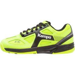 Buty sportowe chłopięce: Kempa WING JUNIOR CAUTION Obuwie do piłki ręcznej fluo gelb/anthra/schwarz