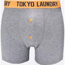 Tokyo Laundry - Bokserki (2-pack). Czarne bokserki męskie marki Tokyo Laundry, z bawełny. W wyprzedaży za 24,90 zł.