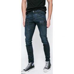 G-Star Raw - Jeansy D03452.8968.8960. Niebieskie jeansy męskie slim marki G-Star RAW, z bawełny. W wyprzedaży za 559,90 zł.