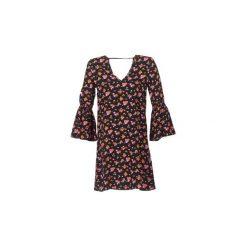 Sukienki krótkie Noisy May  NMEWI. Czarne sukienki hiszpanki Noisy May, l, z krótkim rękawem, mini. Za 111,30 zł.