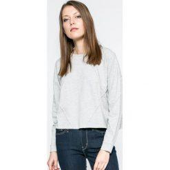 Only - Bluza Jinnou. Szare bluzy damskie ONLY, l, z bawełny, bez kaptura. W wyprzedaży za 49,90 zł.