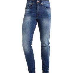 New Look Jeansy Slim Fit bright blue. Niebieskie jeansy męskie New Look. W wyprzedaży za 170,10 zł.