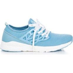 Buty sportowe damskie: AX BOXING Buty damskie materiałowe niebieskie r. 38
