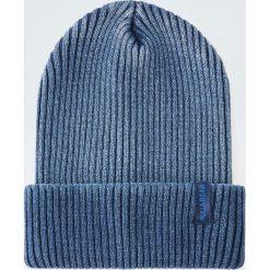 Akcesoria męskie: Dzianinowa czapka w kolorze indygo