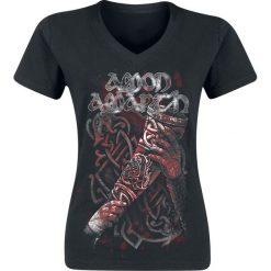 Amon Amarth Raise Your Horns Koszulka damska czarny. Czarne bralety Amon Amarth, m, z napisami, z dekoltem na plecach. Za 74,90 zł.