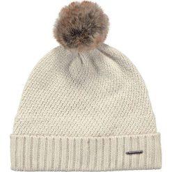 Barts - Czapka Amaranth. Brązowe czapki zimowe damskie Barts, na zimę, z dzianiny. W wyprzedaży za 119,90 zł.