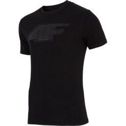 T-shirty męskie: KOSZULKA MĘSKA 4F CZARNA H4Z17 TSM005 60