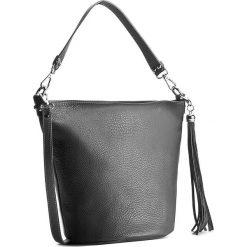 Torebka CREOLE - K10286 Szary Ciemny. Szare torebki klasyczne damskie Creole, ze skóry. W wyprzedaży za 159,00 zł.