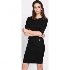 Czarna Sukienka Reach For Me. Sukienki małe czarne marki Born2be, l. Za 79,99 zł.