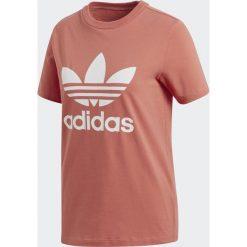 Bluzki damskie: Adidas Koszulka damska Originals Treofil czerwona r. 36 (CV9890)